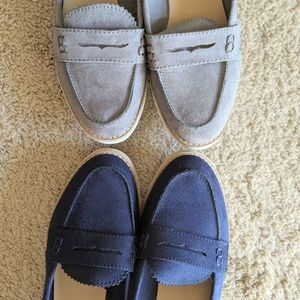 Set of 2: Gap Suede Imitation Loafers